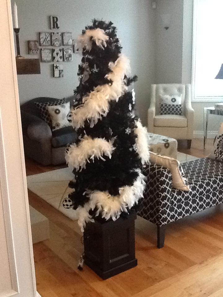 Cheap Filing Cabinets: Black Christmas Tree