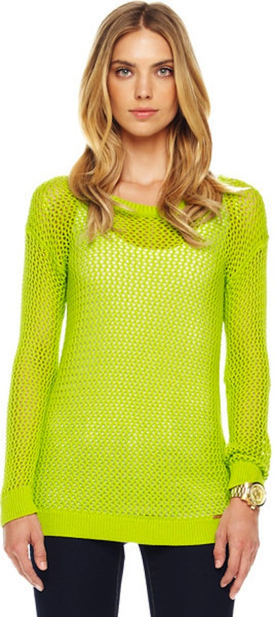 lucky mag mesh sweater