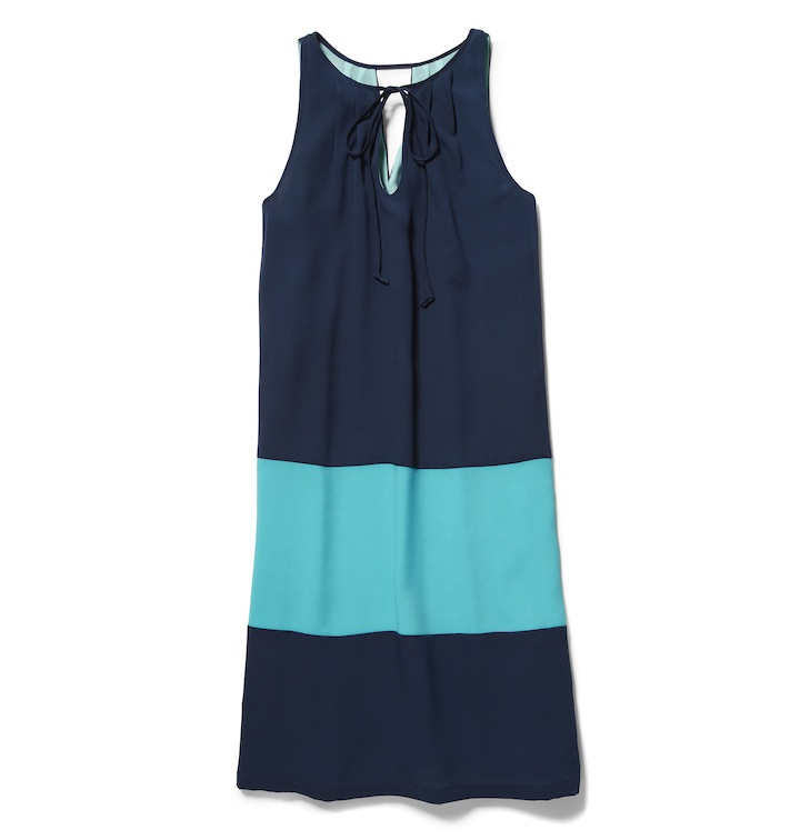 joe fresh color block dress