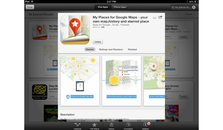 my places app
