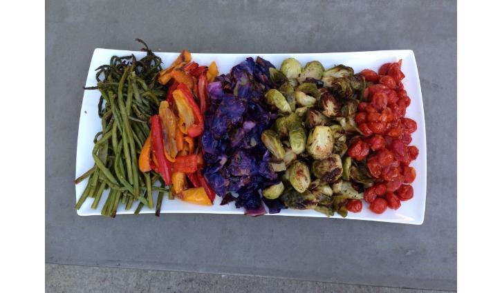 veg plated