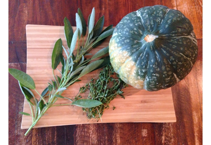 Kabocha squash ingredients