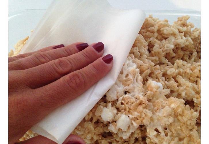 rice krispies parchment