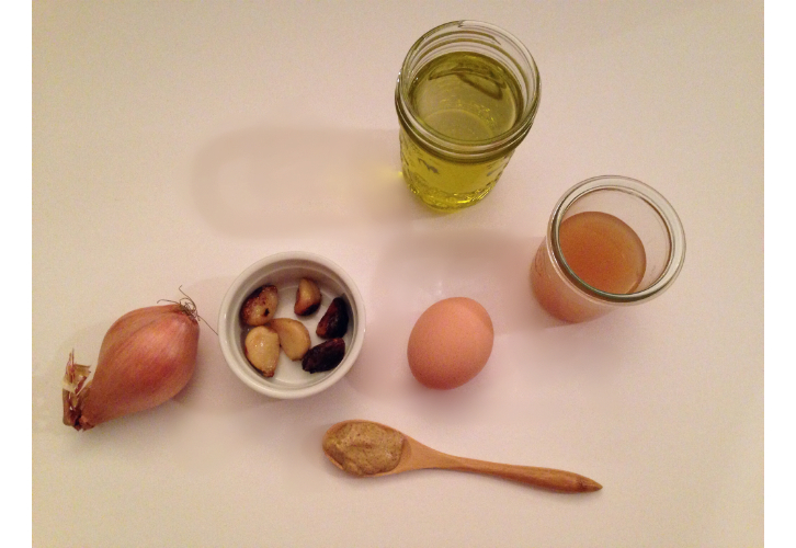 roasted garlic ingredients