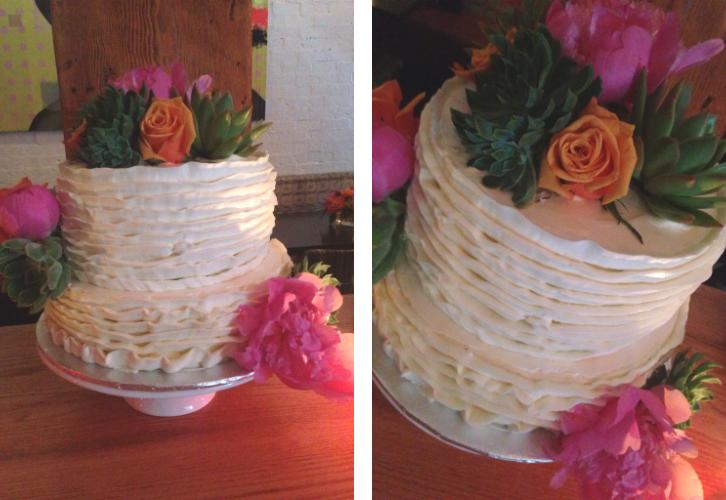 Lo's 40th cake