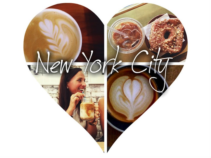 nyc coffee collage