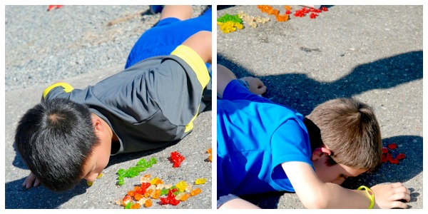 amazing race collage gummy