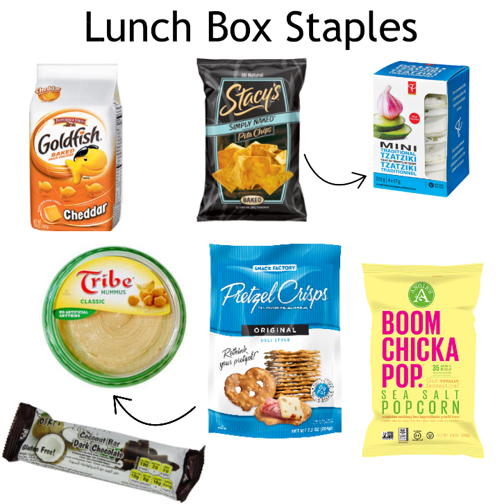 lunch box staples