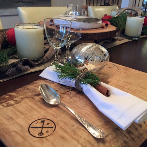 Organic Christmas Table Setting3