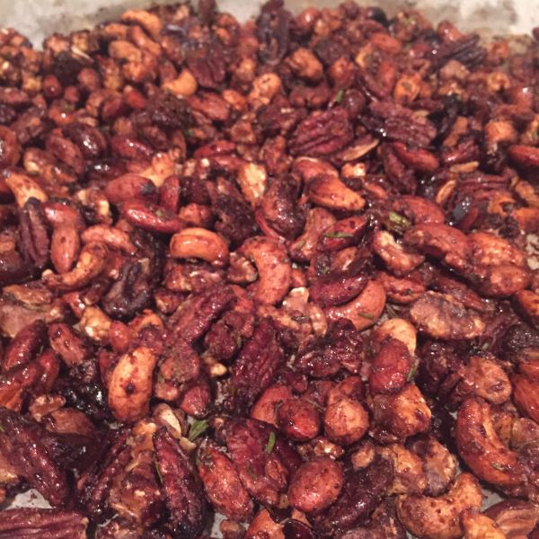 chipotle rosemary nuts