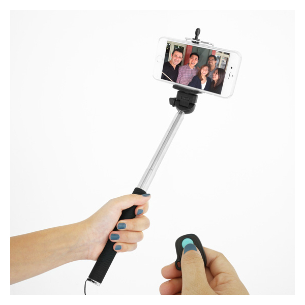 selfie stick and remote