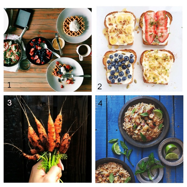 IG food collage