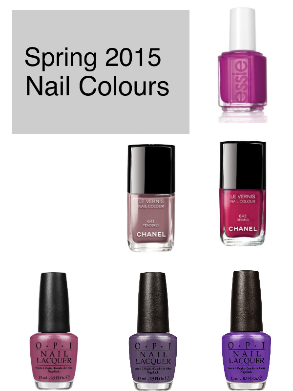 spring 2015 nail colours
