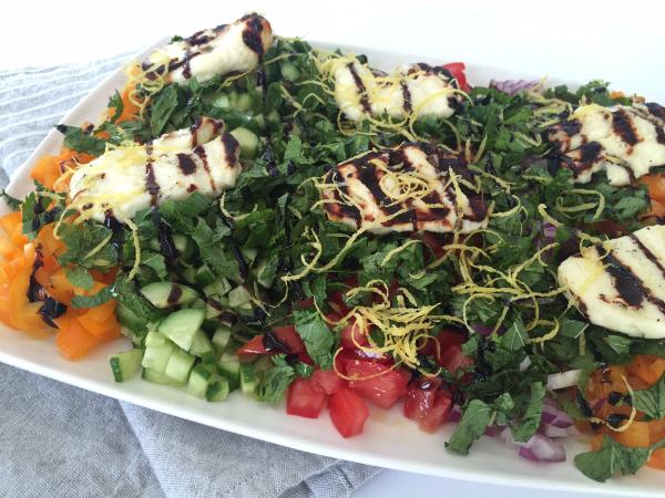 Israeli salad6