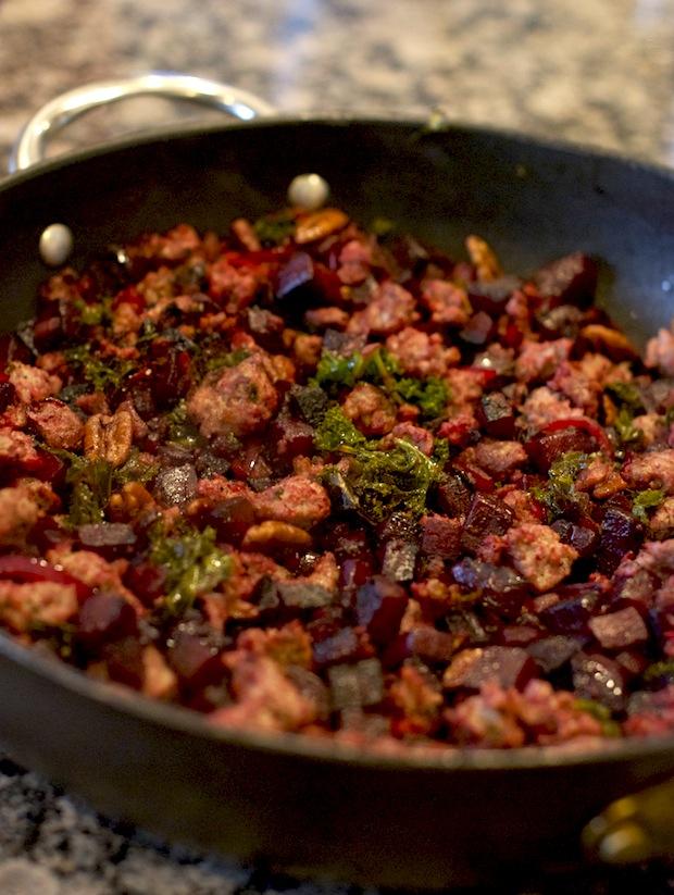 sausage hash