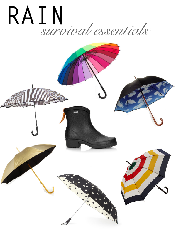 Rain survival essentials
