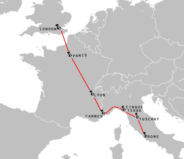 eddy euro itinerary map3