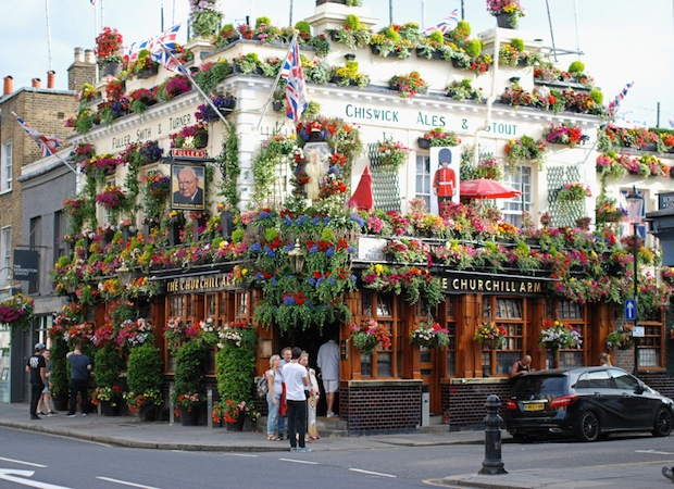 london churchill arms