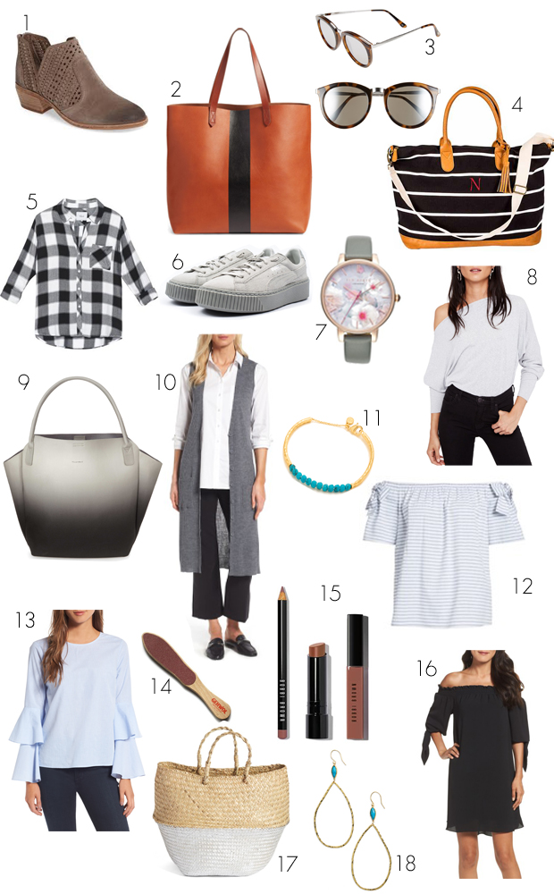 0a2cf141d8 Rails Plaid Top (in Ebony/Ivory Buffalo Check) $99.90 | 6. Puma Platform  Sneakers $72.90 | 7. Ted Baker Watch $99.90 | 8. Free People Off the  Shoulder ...
